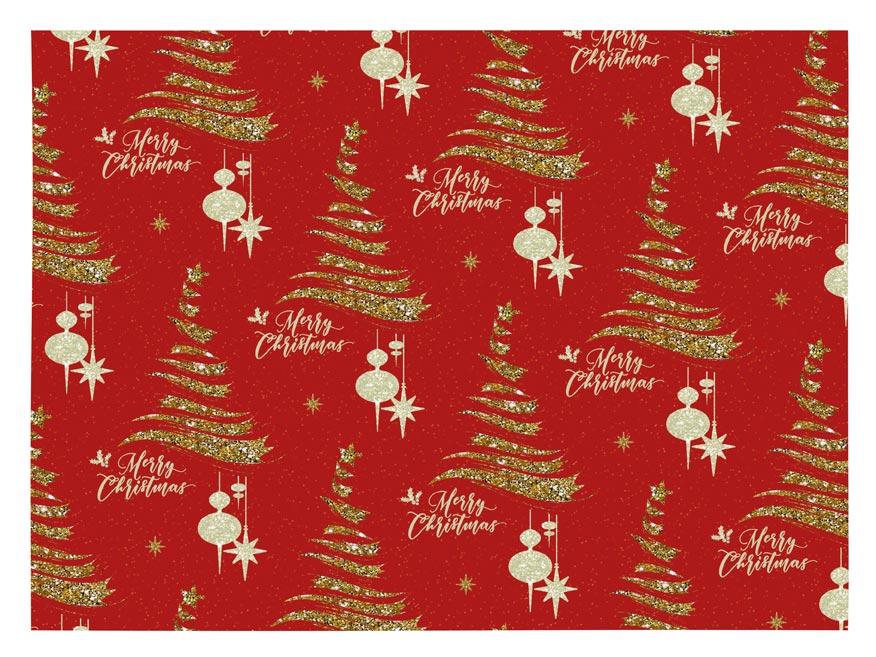 Balící papír vánoční LUX V225 100x70