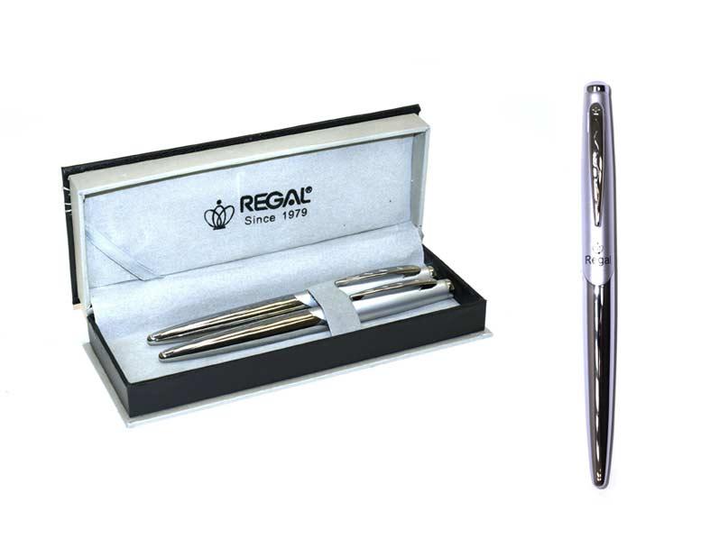 Souprava T propiska + roller Themis stříbrná 25025RB