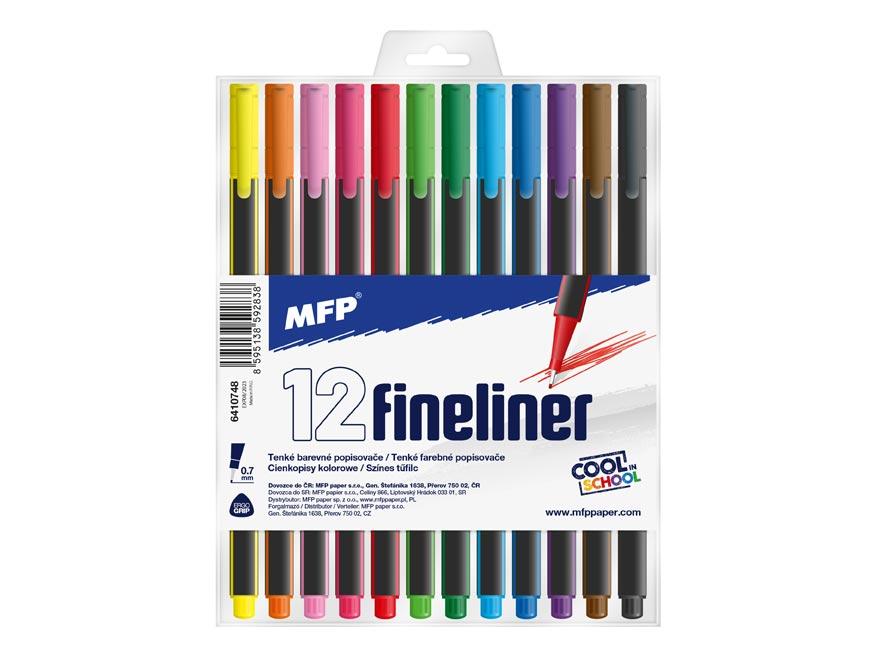 MFP 6410748 popisovač FL 12 ks barev 0,7mm trojhranné