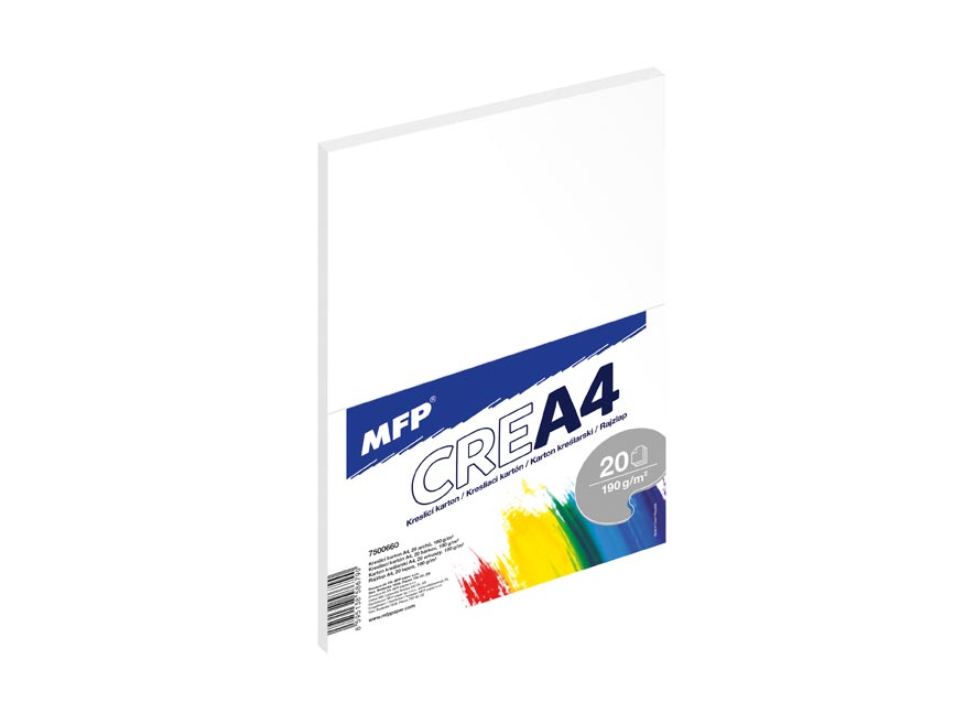 MFP kreslící karton A4 20 listů 190g