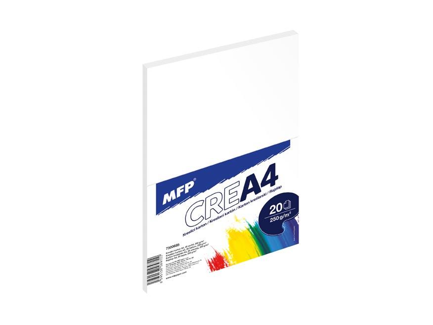 MFP kreslící karton A4 20 listů 250g