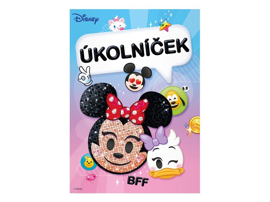 Úkolníček MFP A6 Disney (Emoji)