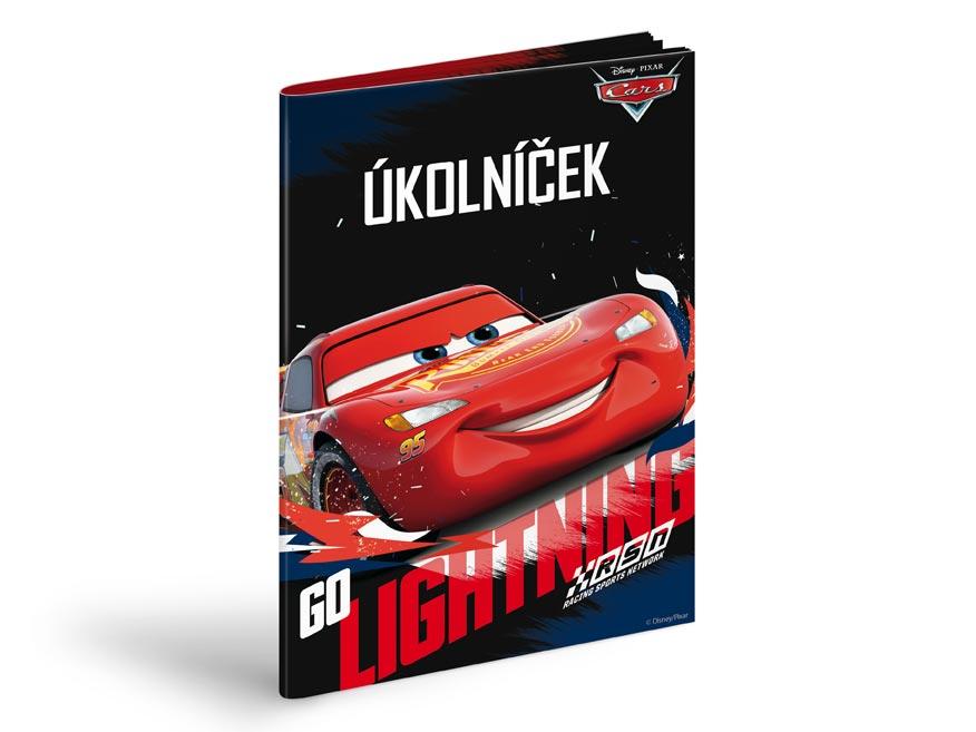 Úkolníček MFP A5 Disney (Cars)