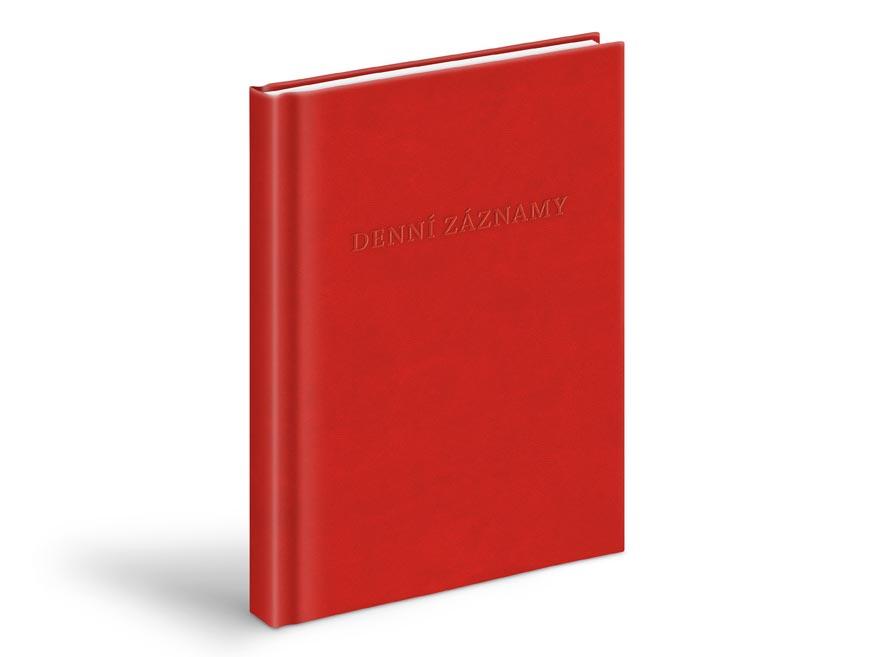MFP 7780944 denní záznamy - A5, červená
