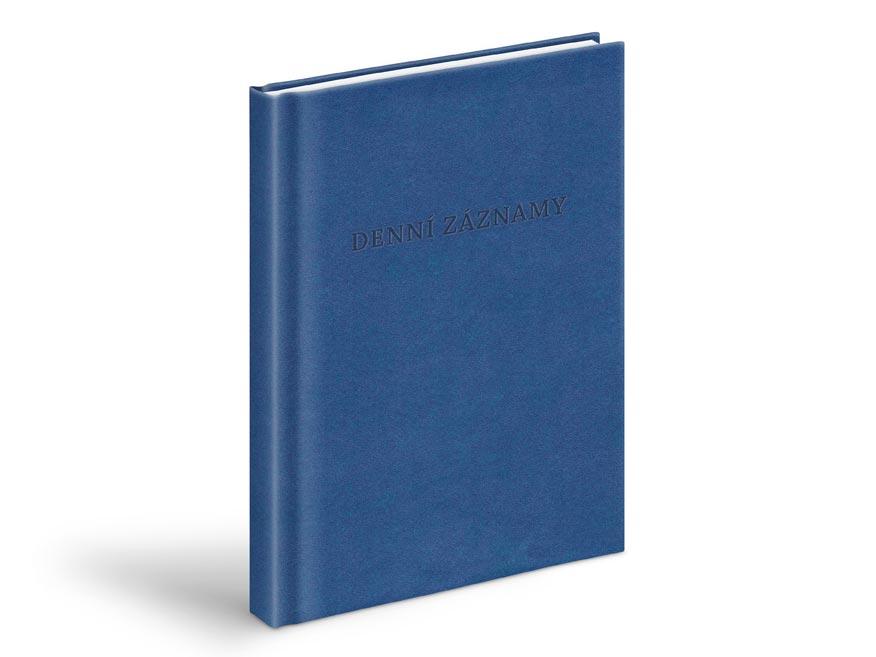 MFP 7780945 denní záznamy - A5, modrá