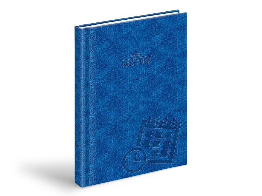 MFP 7781035 denní záznamy - A5, PU modrý