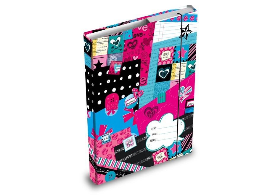 Desky na sešity MFP box A4 Teen