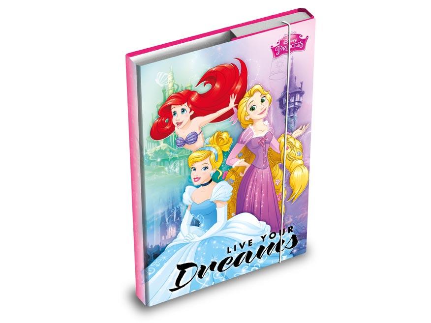 Desky na sešity MFP box A4 Disney (Princess)