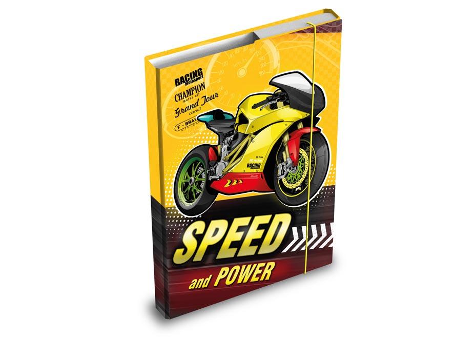 MFP 8020810 desky na sešity box A5 Motorka