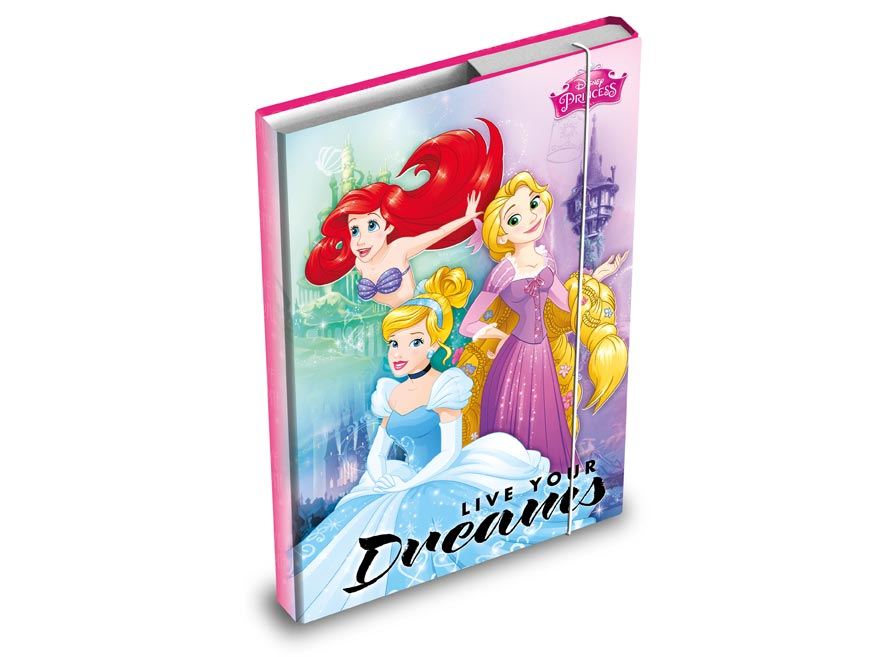 MFP 8020819 desky na sešity box A5 Disney (Princess)