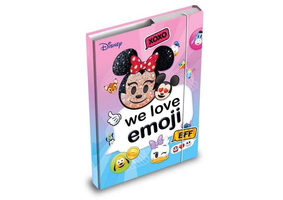 MFP 8020821 desky na sešity box A5 Disney (Emoji)
