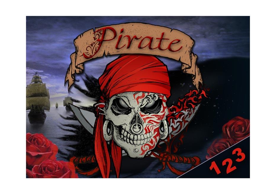 Desky na číslice MFP Piráti