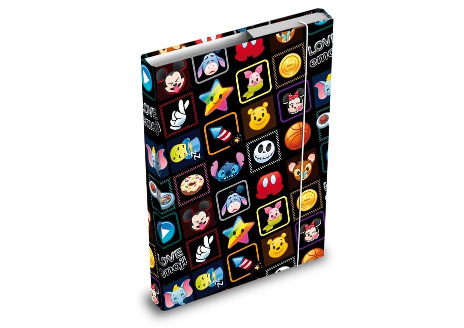Desky na sešity MFP box A4 Disney (Emoji)