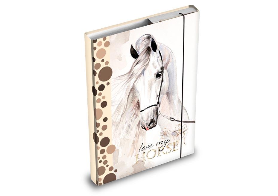 Desky na sešity MFP box A4 Koně