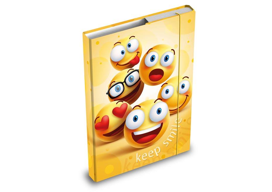 Desky na sešity MFP box A4 Smile