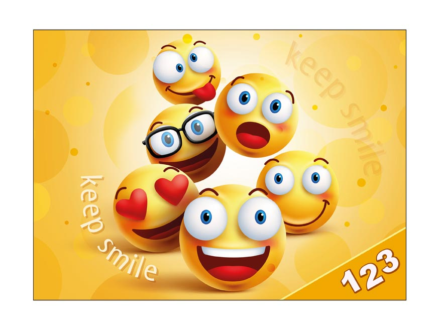 Desky na číslice MFP Smile