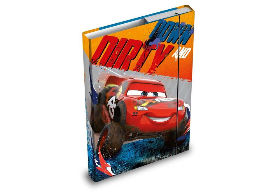 Desky na sešity MFP box A4 Disney (Cars)