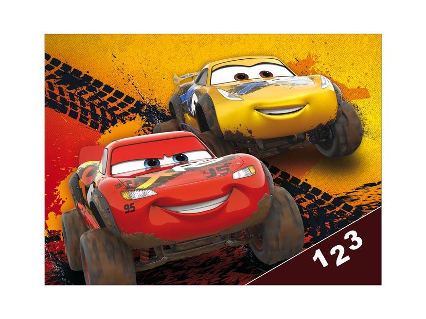 Desky na číslice MFP Disney (Cars)