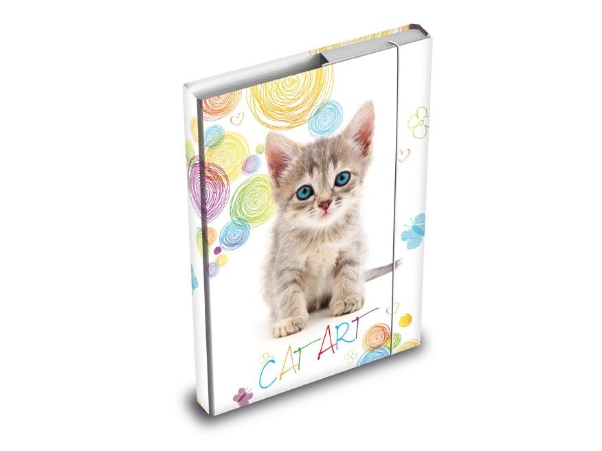 MFP 8020880 desky na sešity box A5 Kočka
