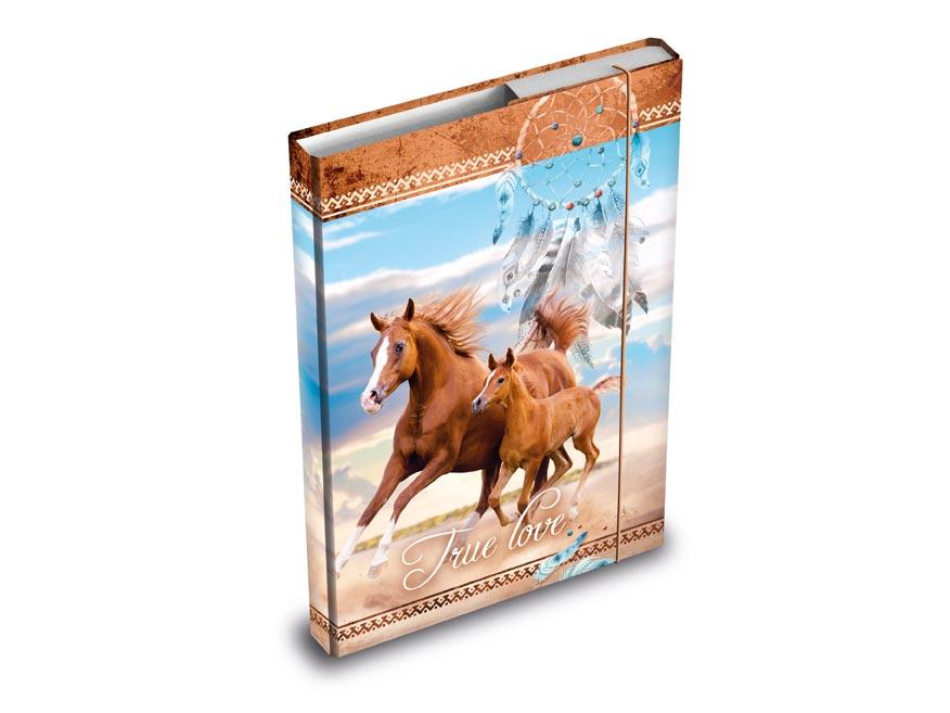Desky na sešity MFP box A5 Kůň