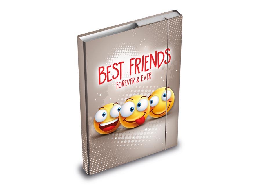 MFP 8020886 desky na sešity box A5 Smile