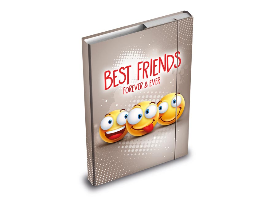 MFP 8020896 desky na sešity box A4 Smile