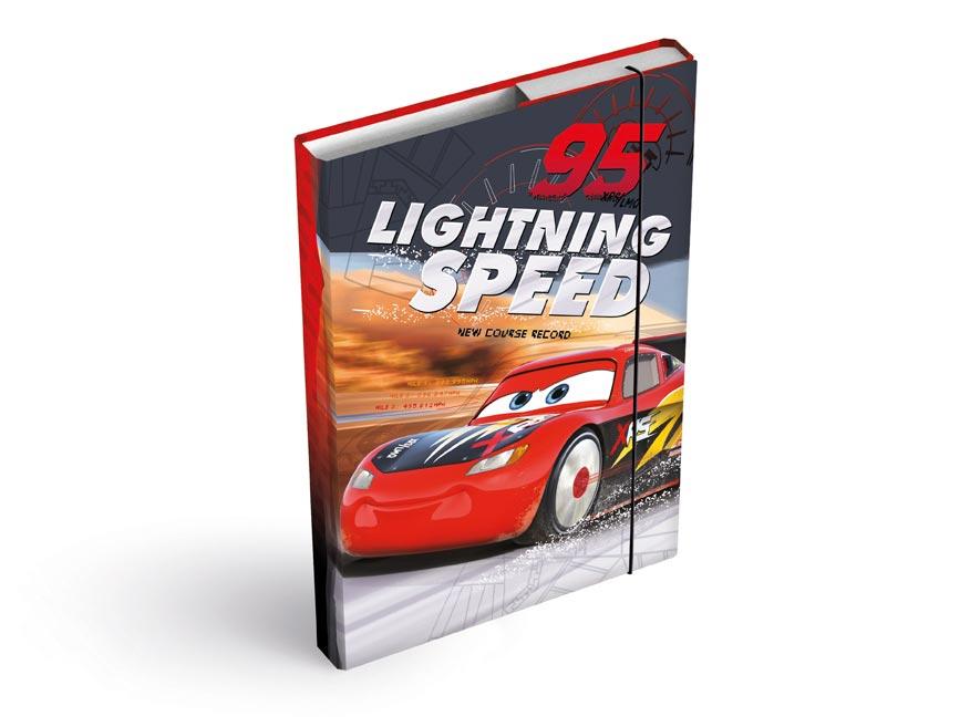 MFP 8020903 desky na sešity box A5 Disney (Cars)