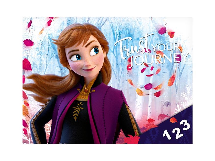 Desky na číslice MFP Disney (Frozen)