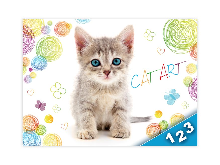 Desky na číslice MFP Kočka