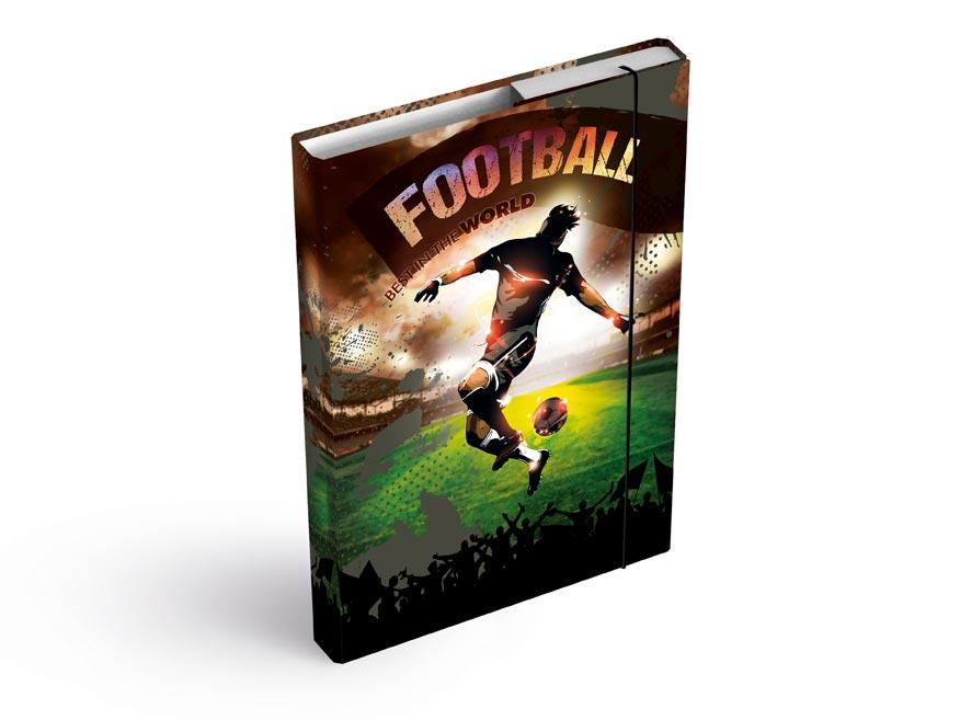 MFP 8020938 Desky na sešity box A5 Fotbal