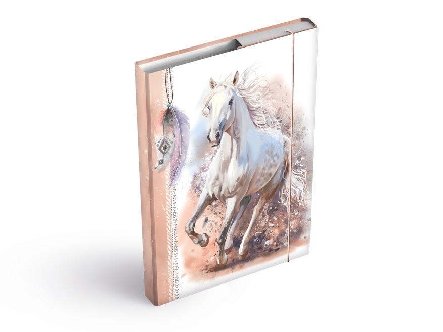 MFP 8020940 Desky na sešity box A5 Kůň