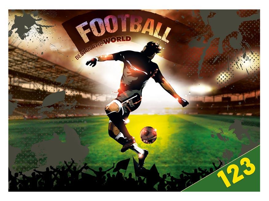 Desky na číslice MFP Fotbal