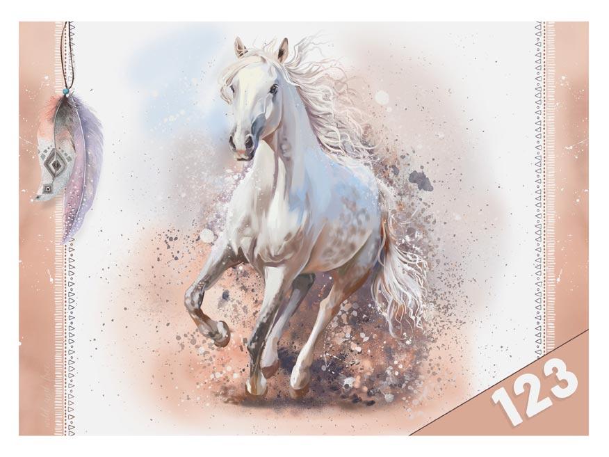 Desky na číslice MFP Kůň