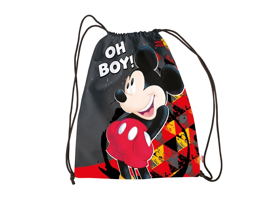Sáček na přezůvky Disney Mickey 30x39cm
