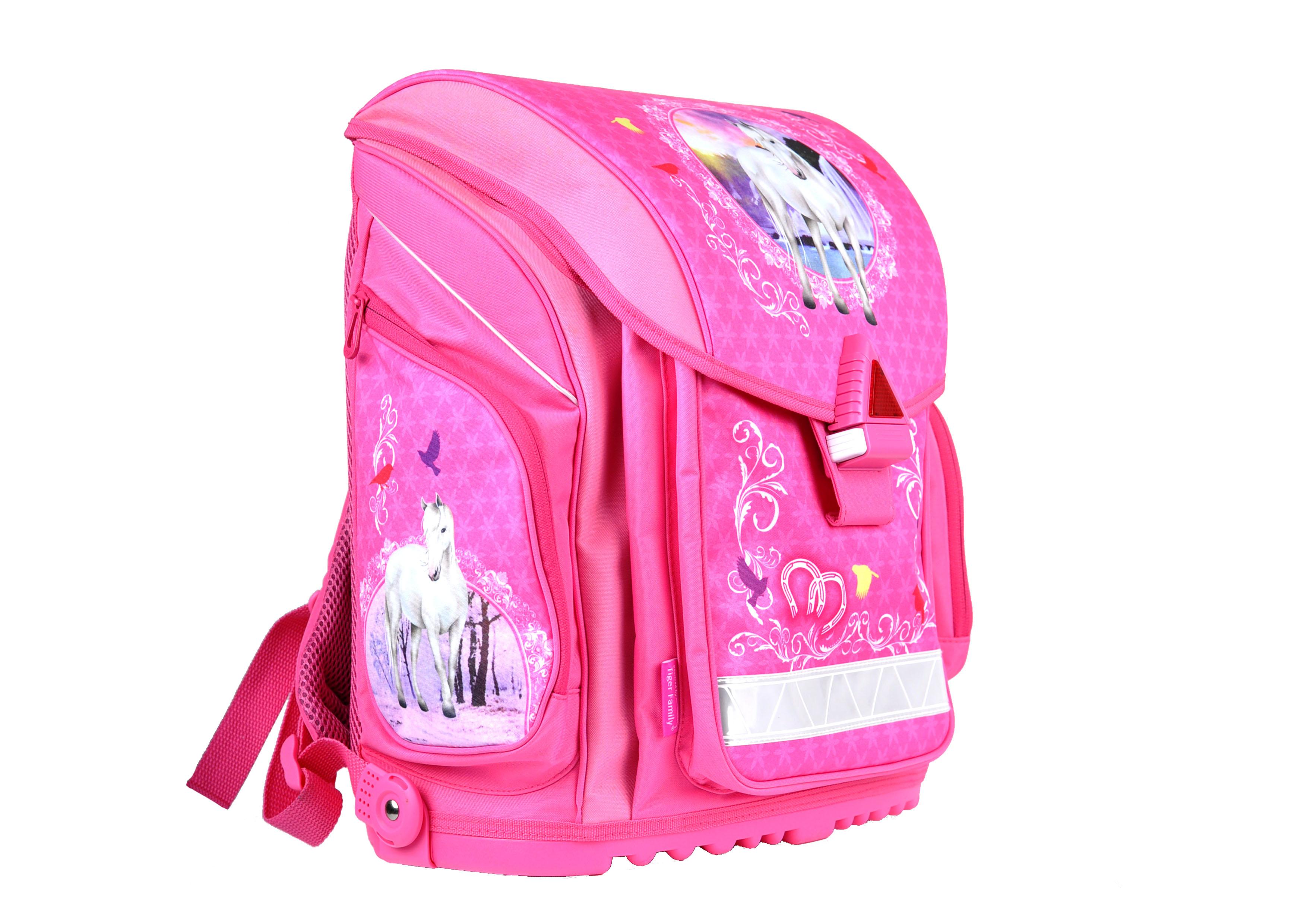 Batoh školní Elite Pink  a3aafb4379