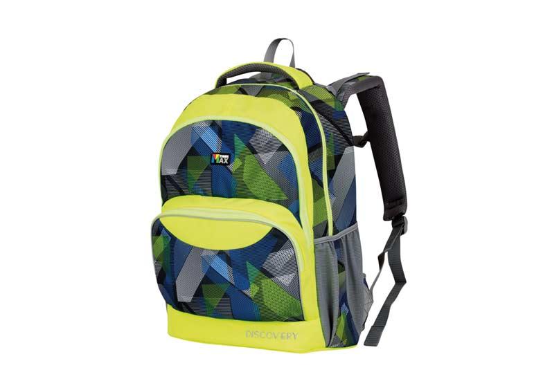 Batoh školní Neon Green  077a3b638e