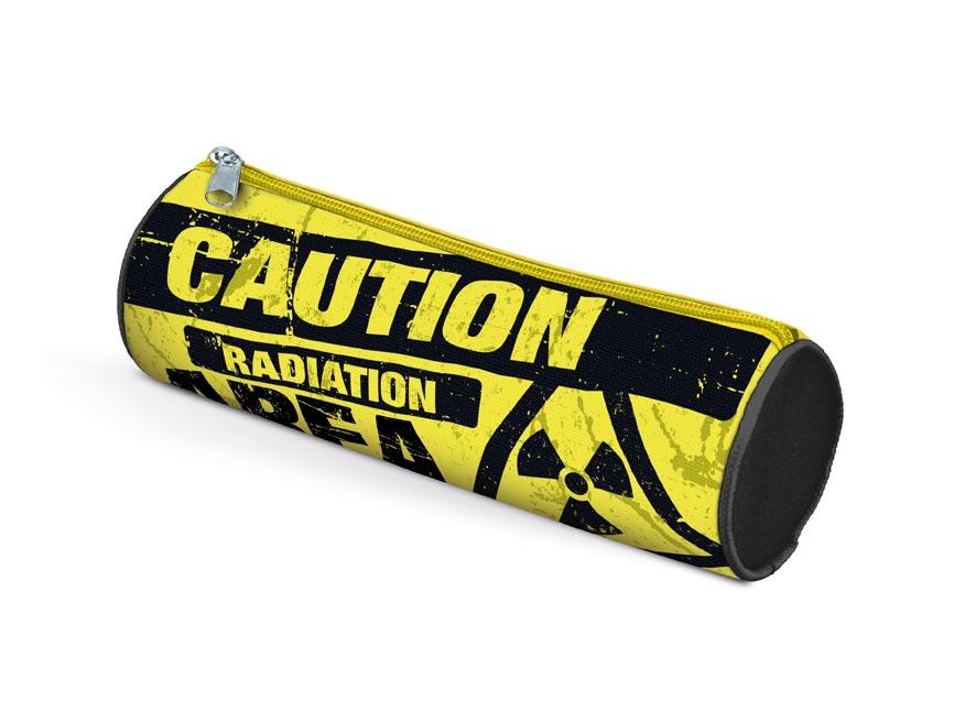 Penál etue válcová Caution