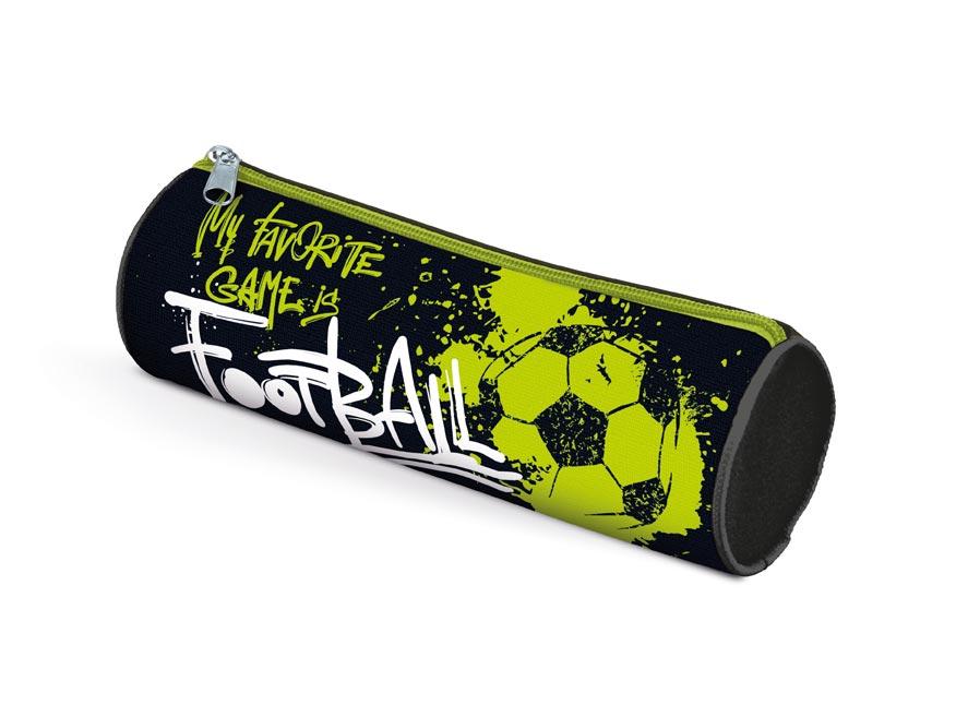 Penál etue válcová Fotbal