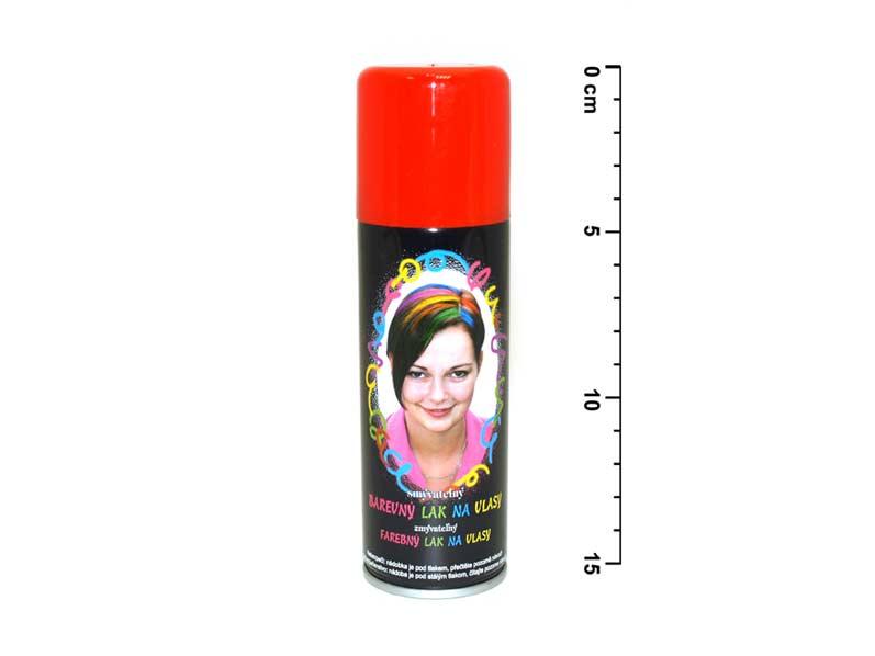 Spray na vlasy 141 neon červený
