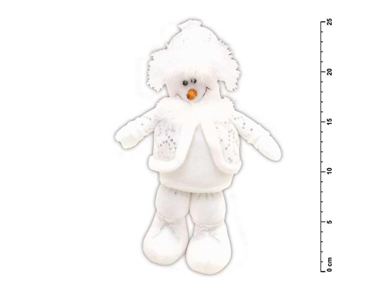 Sněhulák stojící malý plyš YX-09115D1