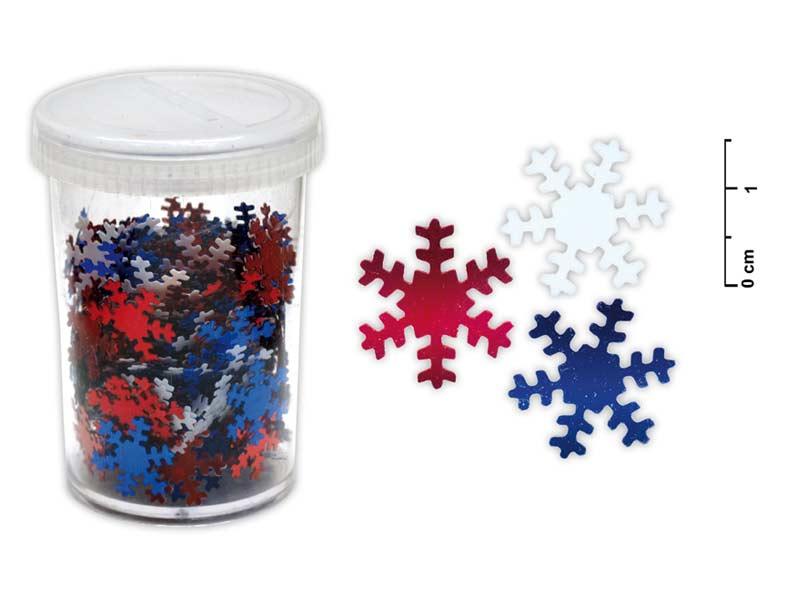 MFP 8885414 Konfety vločky 25g mix barev