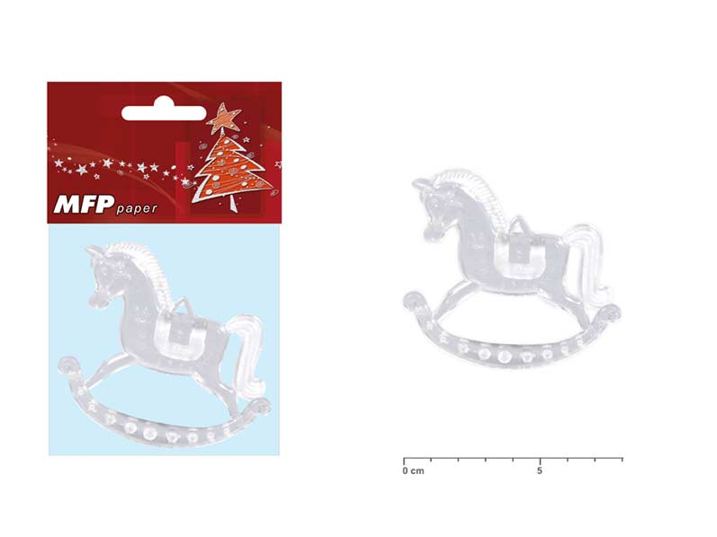 Kůň 8cm/2ks akrylový