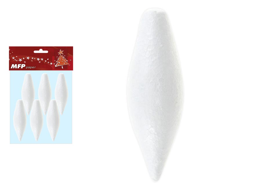 Oliva set 10cm/6ks hladké