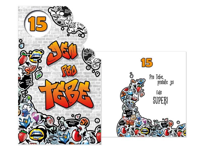 přání k patnáctým narozeninám Přání k narozeninám 15 M11 384 H | MFP paper s.r.o. přání k patnáctým narozeninám