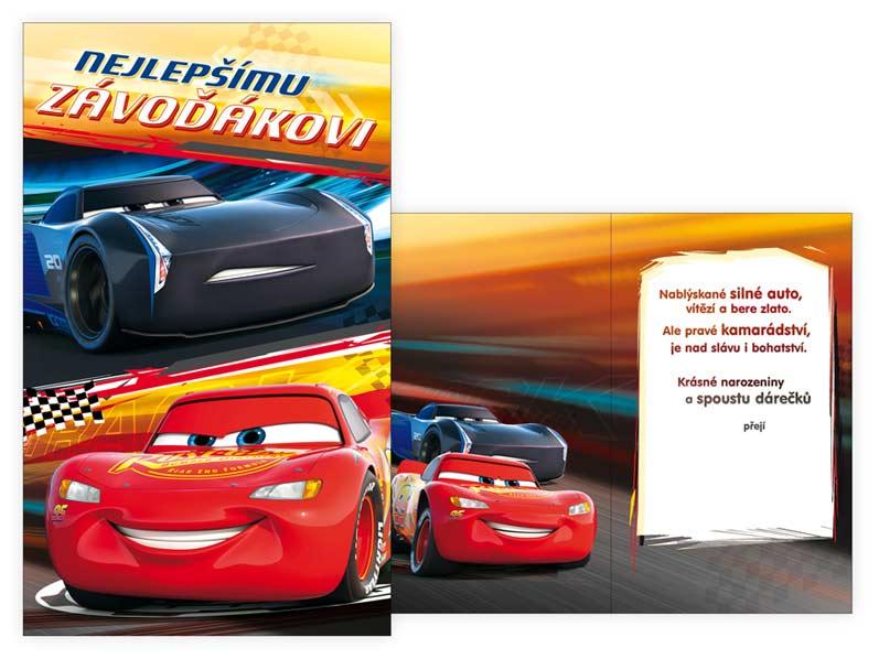 MFP přání dětské M33-075 H Disney (Cars)