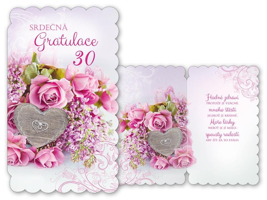 MFP přání k narozeninám 30 M11-435 H