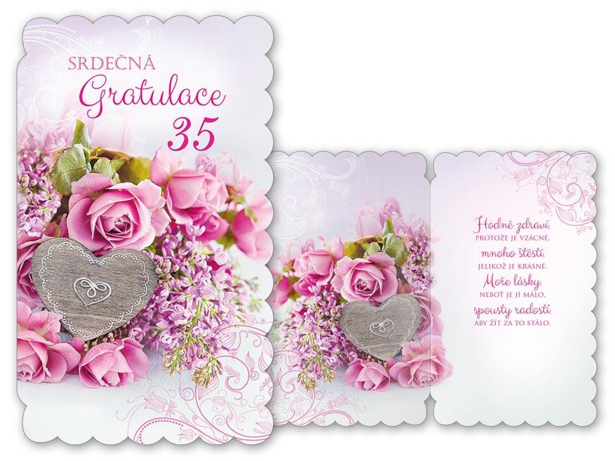 MFP přání k narozeninám 35 M11-435 H