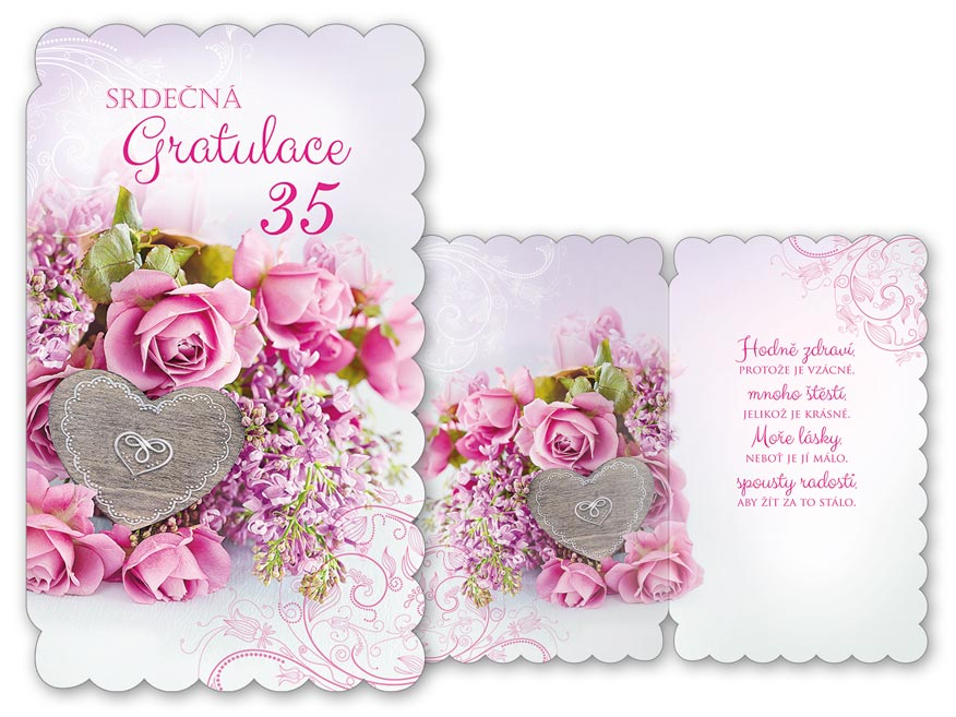 přání k narozeninám 35 Přání k narozeninám 35 M11 435 H | MFP paper s.r.o. přání k narozeninám 35