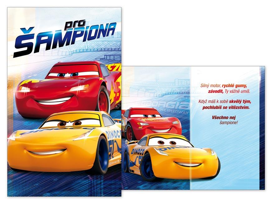 MFP přání dětské M33-086 H Disney (Cars)