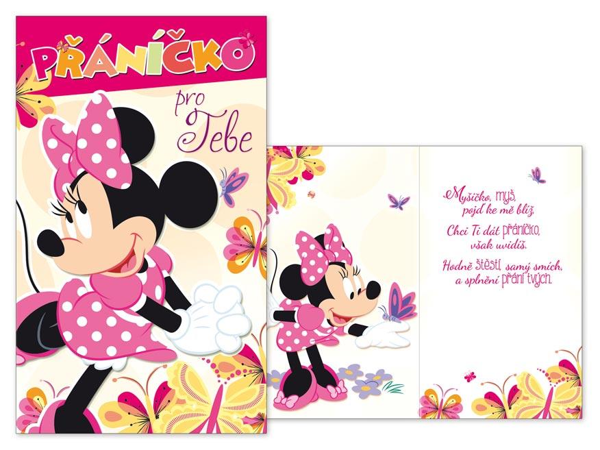 Přání dětské M33-087 H Disney (Minnie)